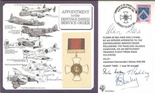 Appointment to the Distinguished Service Order multi