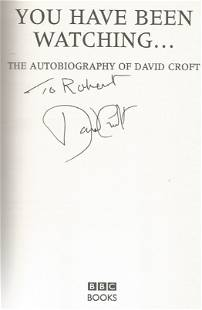 David Croft signed You have been watching - the