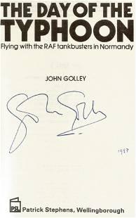 John Golley The Day of The Typhoon A WW2 hardback book