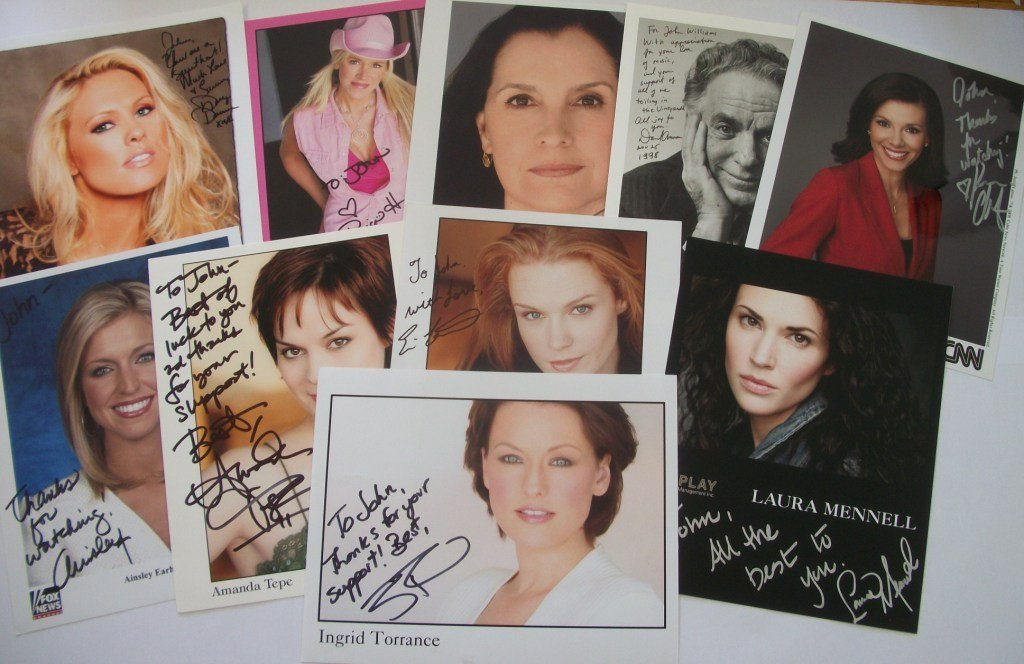 1: TV and Film Autograph Collection