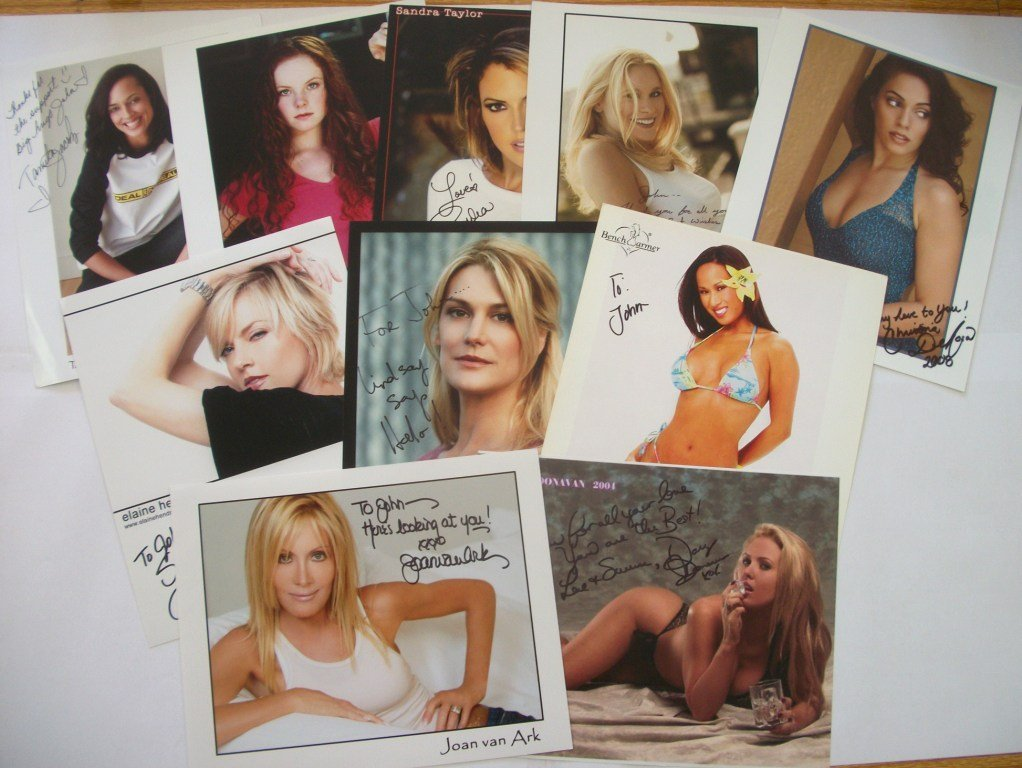 3: TV and Film Autograph Collection