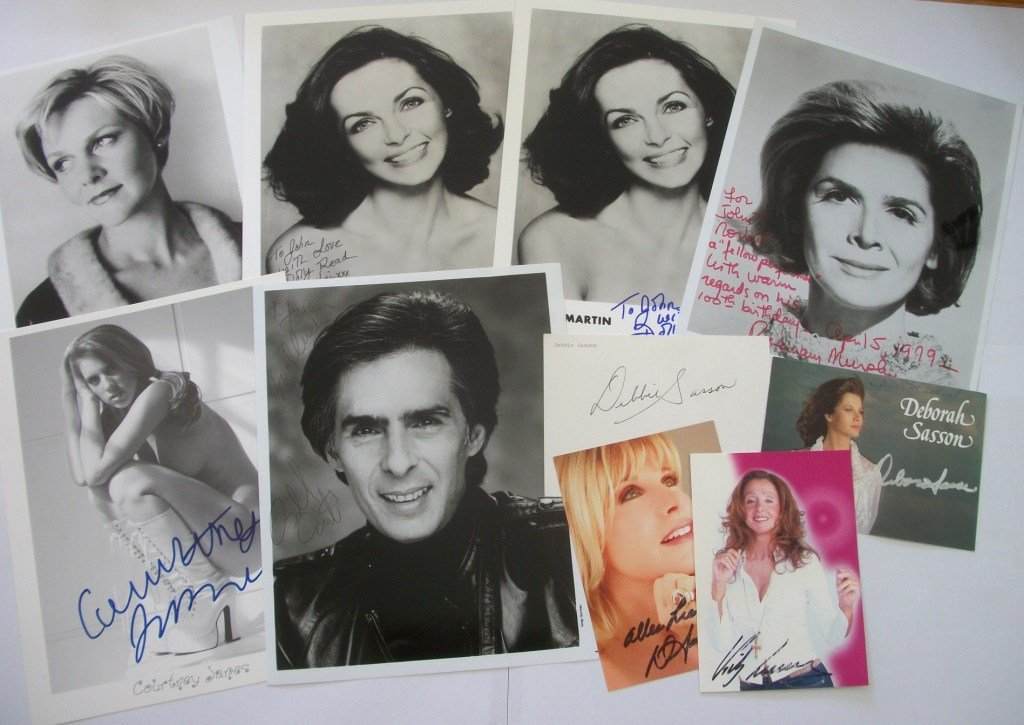 4: TV and Film Autograph Collection