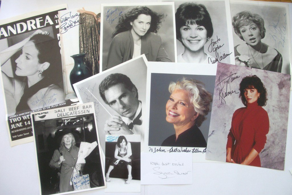 5: TV and Film Autograph Collection