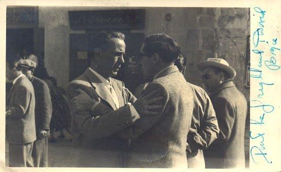 10: Humphrey Bogart autographed photograph