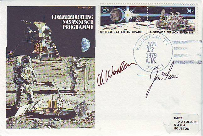 20: Al Worden and Jim Irwin signed cover