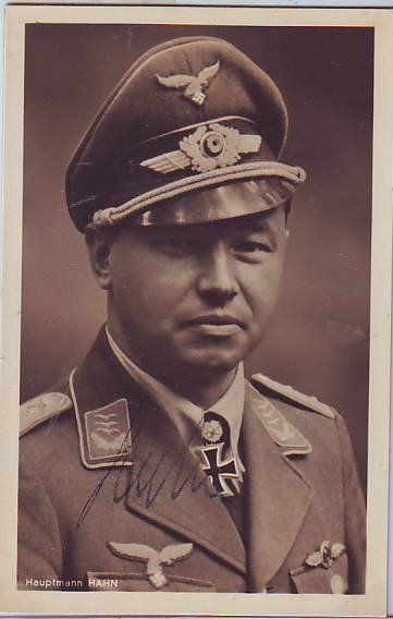 Ernst-Wilhelm Reinert KC OL S signed 6 x 4 wartime