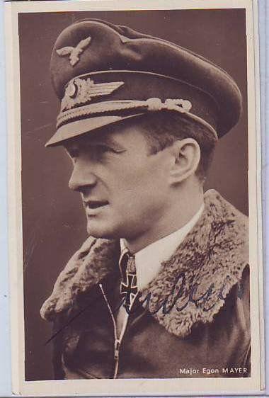 Hartmann Grasser KC OL signed 6 x 4 wartime Hoffman