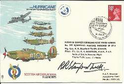 Wg CDR Robert StanfordTuck DSO DFC signed Hurricanes