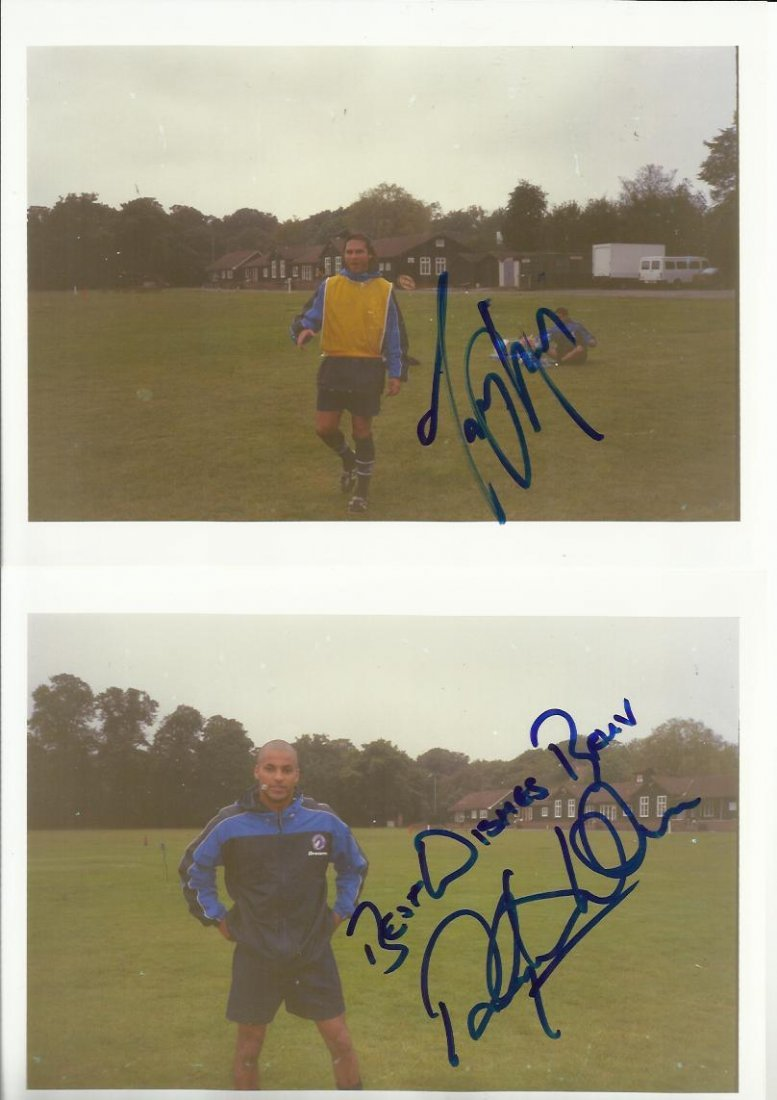 Dream Team Football Show Signed collection of 12 photos