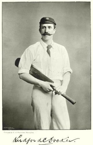 1800 Cricketers Vintage Prints two super late 1800s. 12