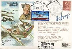Adlertag Multi signed cover 13 August 1940 signed by