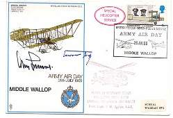 Luftwaffe WW2 Fighter aces Signed cover General Adolf