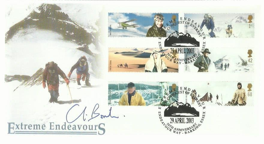 Chris Bonnington signed 2003 Scott Covers Official
