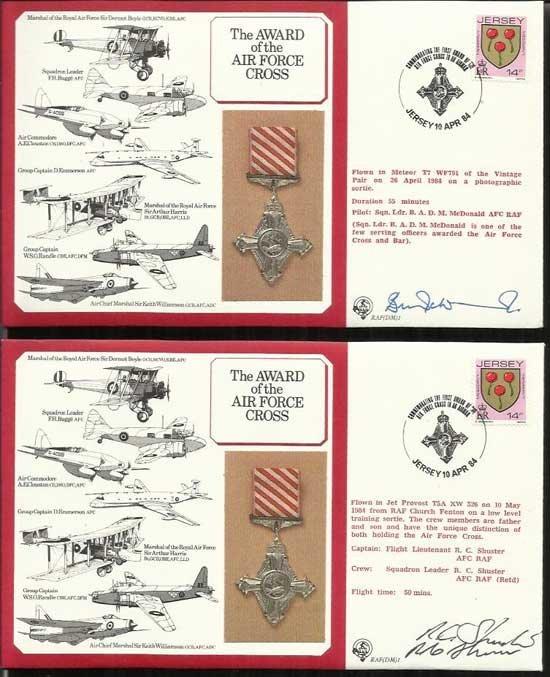 WW2 DM Medal cover collection Tornado in nice Black RAF