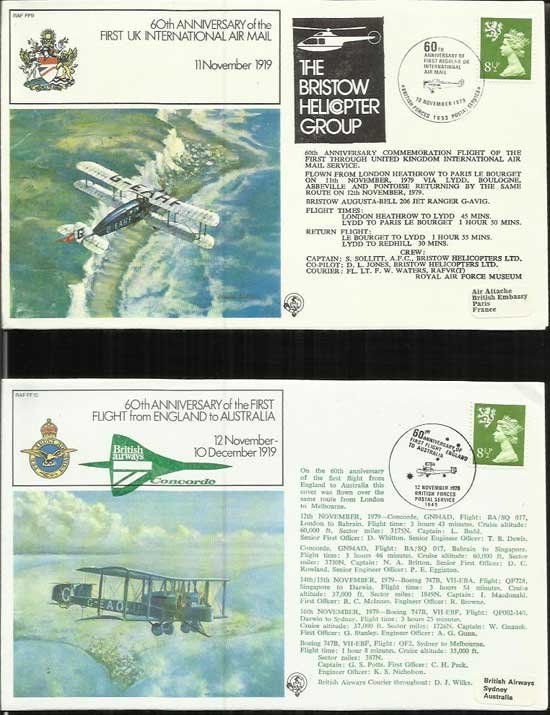 120+ First Flights, Air Displays, Squadrons series