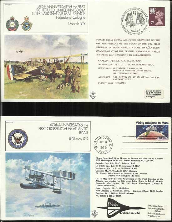 40 First Flights complete collection of 40 flown covers