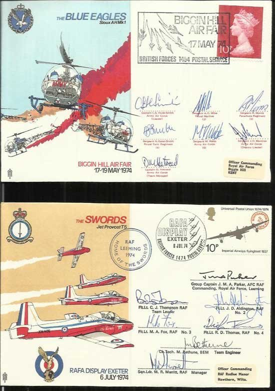 40 Air Display Special signed series covers in superb