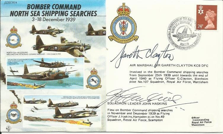 JS/50/39/4c -Bomber Command North Sea Shipping