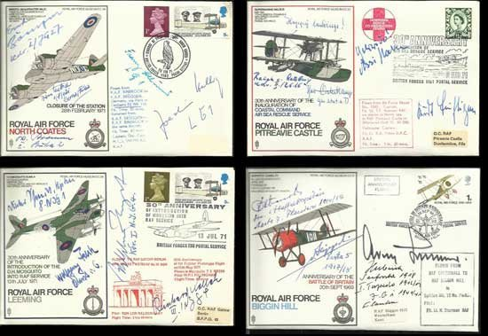 Hans Rossbach complete collection of 80 Luftwaffe