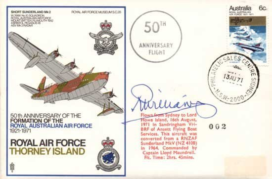 Air Marshal Sir Richard Williams RAF Thorney Island