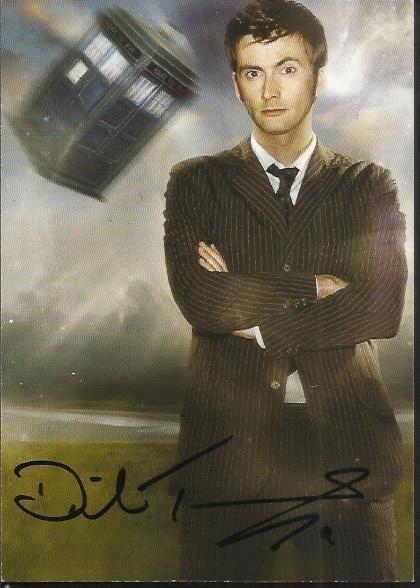 David Tennant signed 6 x 4 colour Dr Who photo. Good