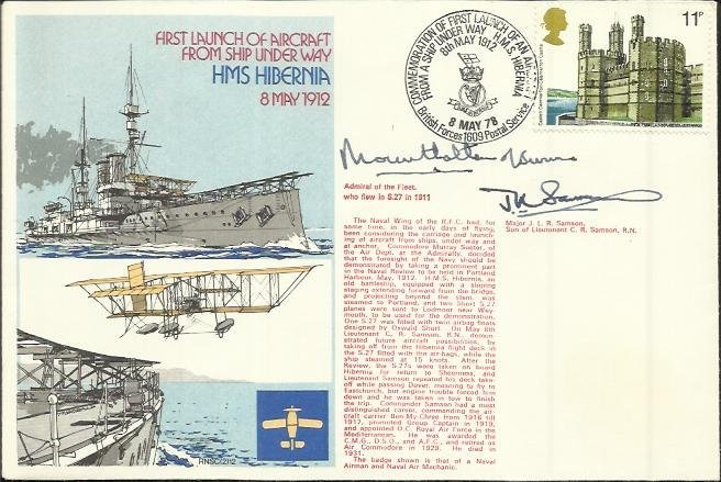Mountbatten of Burma signed RNSC(2)21 HMS Hibernia