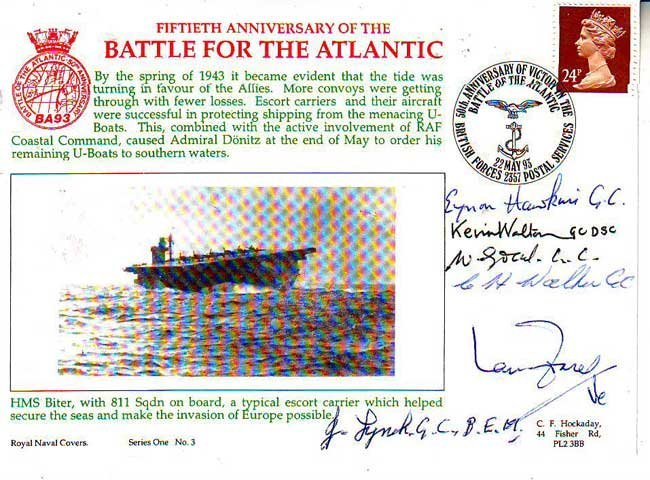 World War 2 Battle for the Atlantic 50th Anniversary