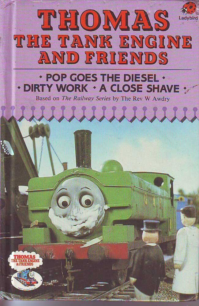 Rev W Awdry signed Thomas the Tank Engine book. An