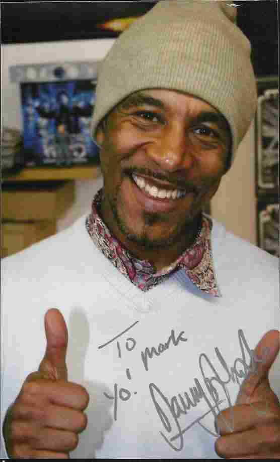 Danny John-Jules signed colour photo. Best known for