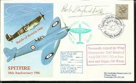 Wg Cdr Robert StanfordTuck DSO DFC CO Duxford wing BOB
