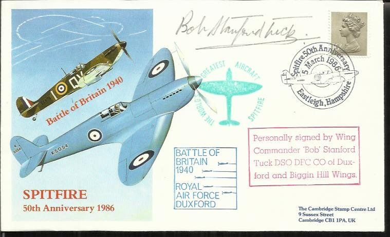 Wg Cdr Robert Stanford-Tuck DSO DFC CO Duxford wing BOB