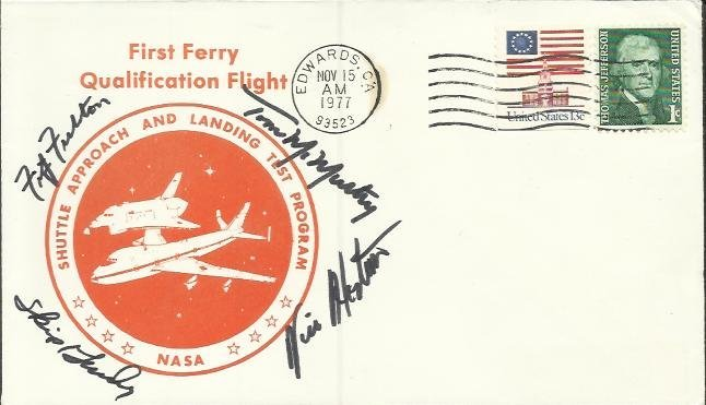 NASA test pilots 1977 NASA First Ferry Qualification