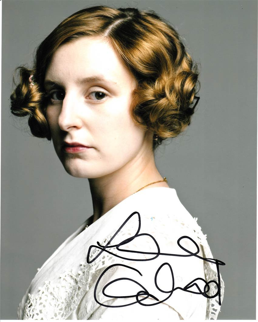 Laura Carmichael signed 8x10 Colour Photo Of Laura From
