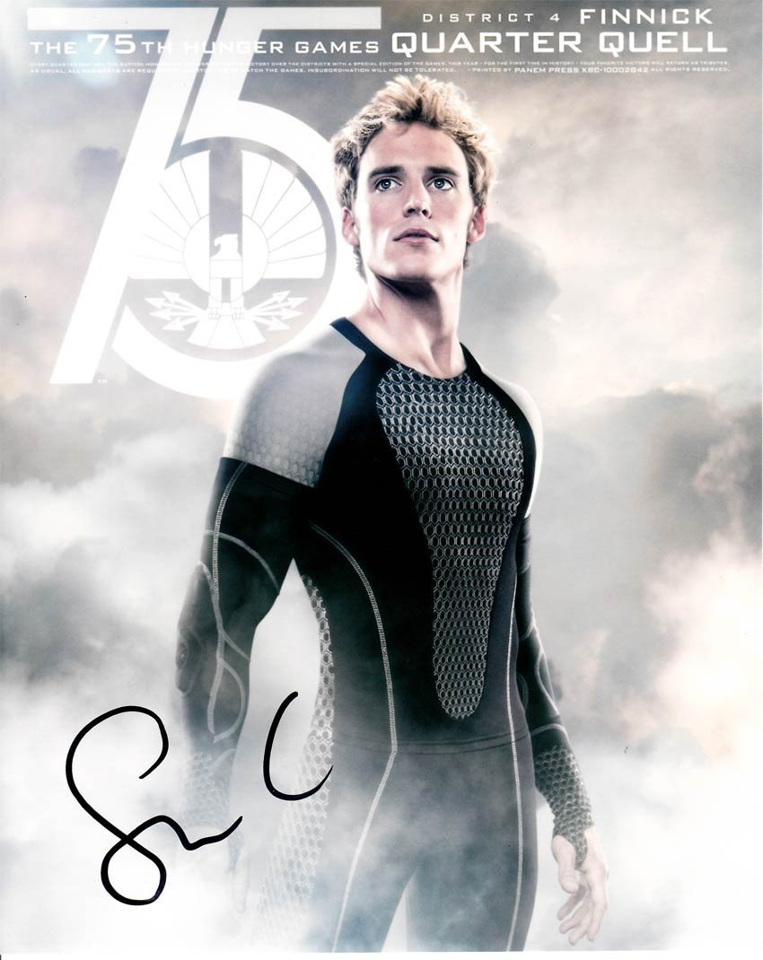 Sam Claflin signed 8x10 Colour Photo Of Sam From The