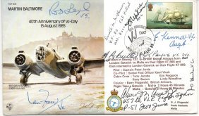 Multisigned Victoria Cross Winners 40th Anniversary V-J
