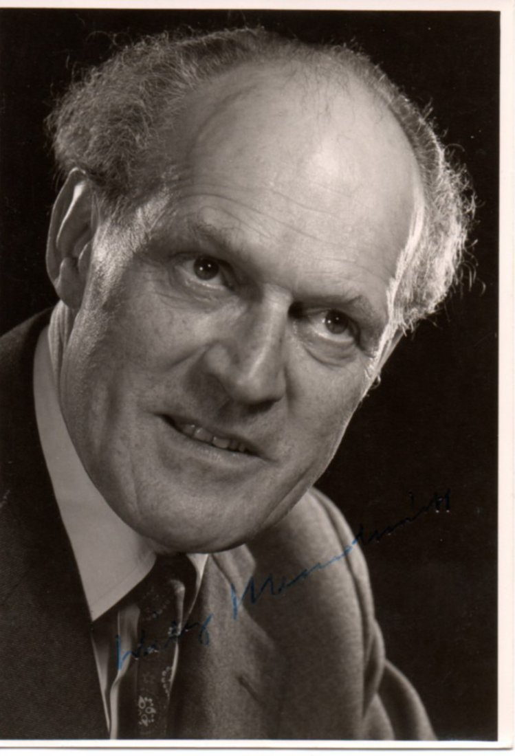 """Wilhelm Emil """"Willy"""" Messerschmitt Died 1978 Signed His"""
