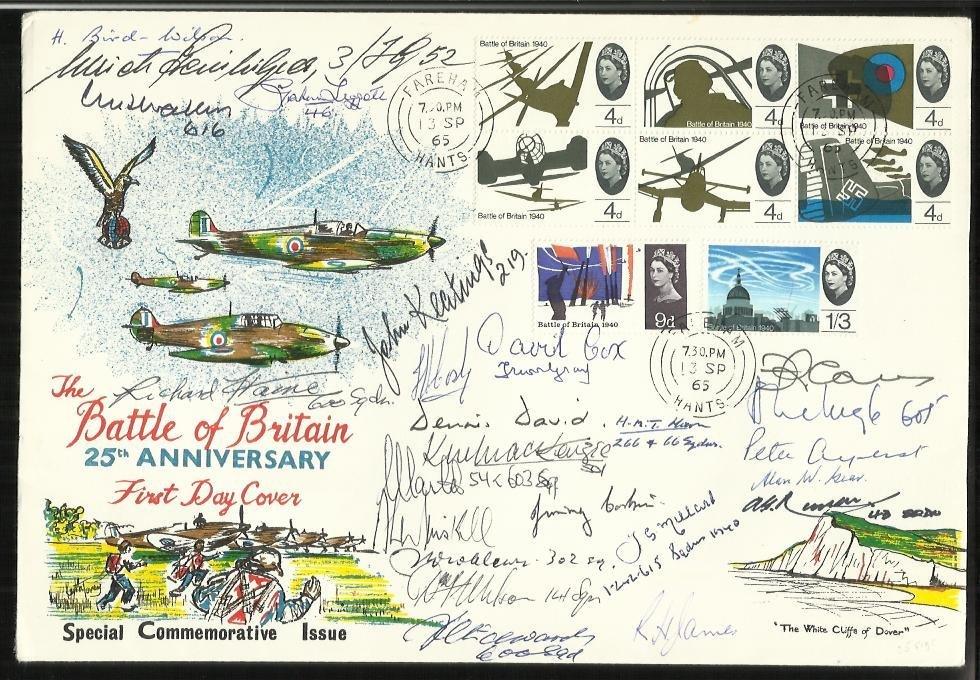 24 Battle of Britain pilots 25th Anniv Battle of