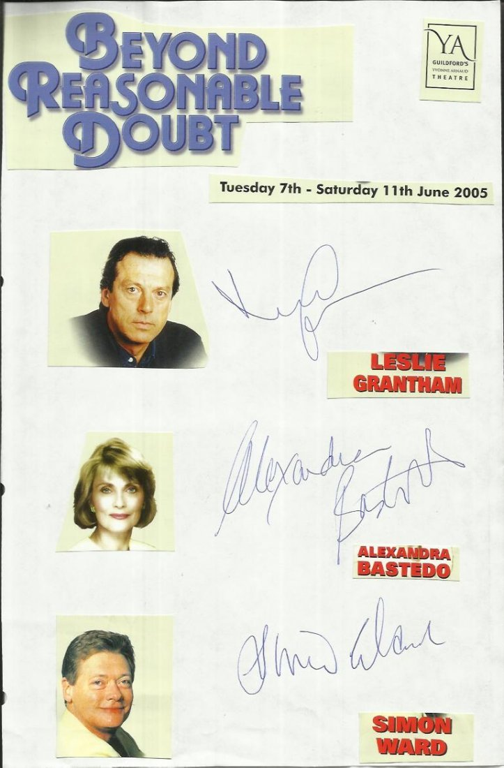 Cast of Beyond Reasonable Doubt, Leslie Grantham,