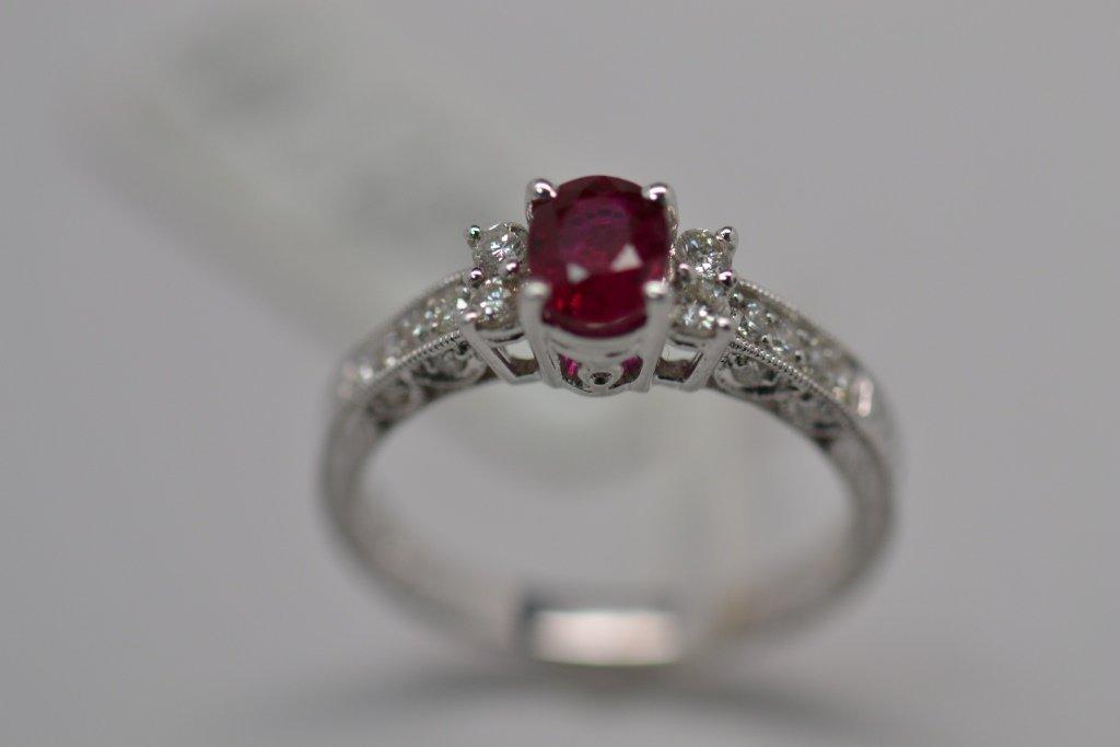 67: Ruby Diamond Ring