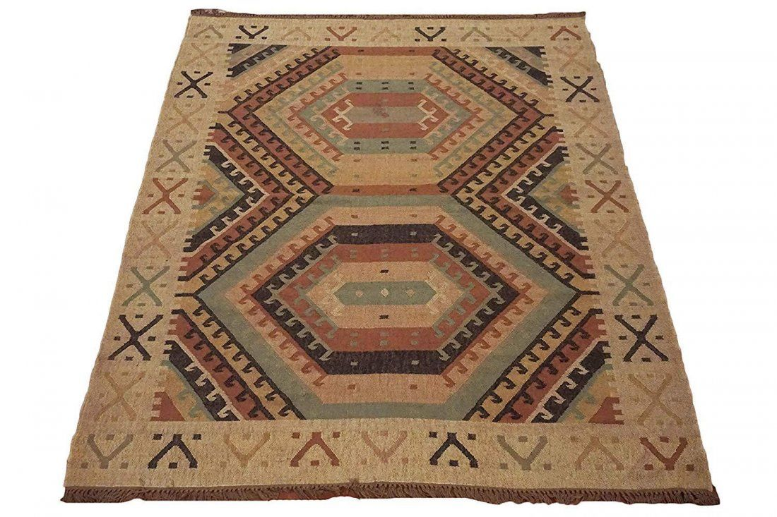 8X10 Hand-Woven & Vegetable Dyed Jute Area Rug