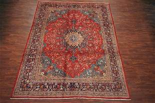 Antique 10X13 Tabriz HandKnotted Wool Area Rug