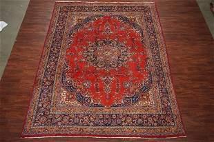 Vintage 10X13 Fine HandKnotted Tabriz Wool Area Rug