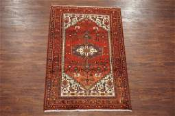 Antique 4X7 Persian Sarab Hand-Knotted Abrash Wool Rug