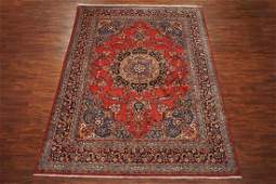 10X13 Fine Persian Tabriz Hand-Knotted Wool Area Rug