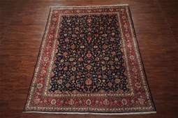 9X13 Antique Persian Tabriz Hand-Knotted Wool Area Rug