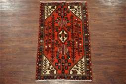 Antique 3X5 Persian Sarab Hand-Knotted Wool Area Rug