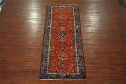 Antique 4X10 Persian Sarab Malayer Gallery Runner