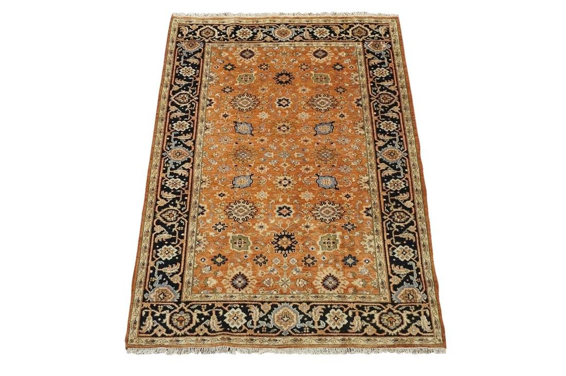 6X9 Mahal Sultanabad Rug Hand-Knotted & Vegetable Dyed