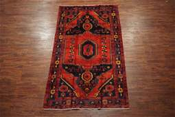 Antique 6X10 Persian Sarab Hand-Knotted Abrash Wool Rug