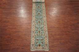 3X17 Oushak Hand-Knotted & Vegetable Dyed Wool Runner